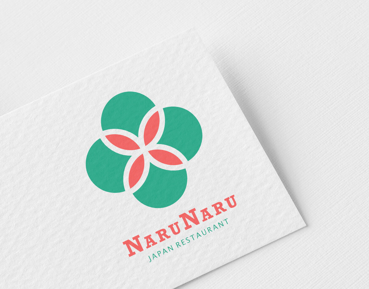 Ein neues Logo für das Restaurant NARUNARU