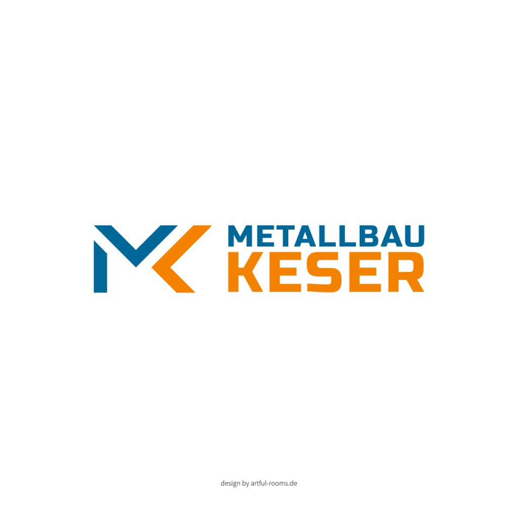 redesign logo metallbau keser münchen