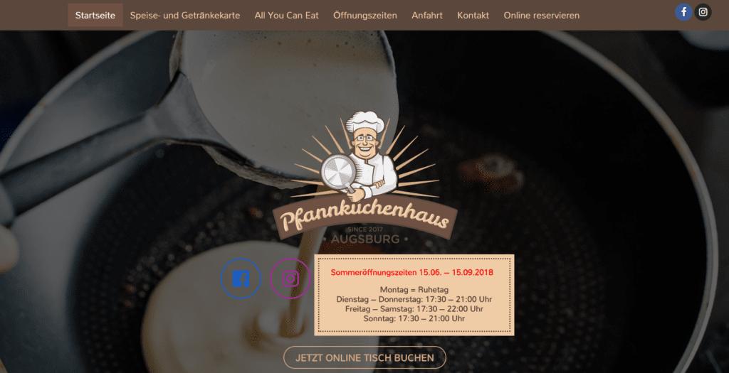 Webdesign, Website Augsburg
