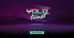 Yolo Toast – Webdesign für eine andere Zeit!